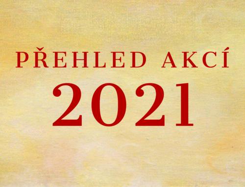 Přehled akcí 2021